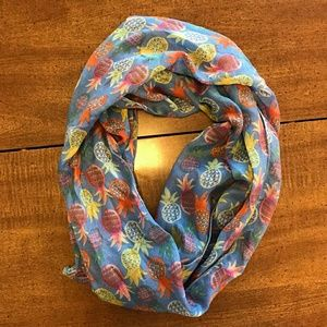 Accessories - Pineapple Infinity Scarf